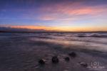 Sonnenuntergang am Starberger See