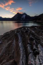 Sonnenuntergang am Walchensee